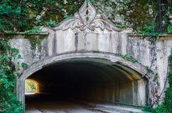 Вход к тоннелю Стоковые Фото