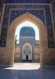 Вход к эмиру Gur-e, мавзолею Tamerlane Стоковая Фотография