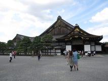 Вход к японскому замку Стоковое Изображение