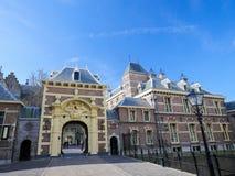 Вход к Binnenhof, Гаага, Нидерланды Стоковая Фотография RF