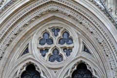 Вход монастырской церкви Йорка Стоковое фото RF