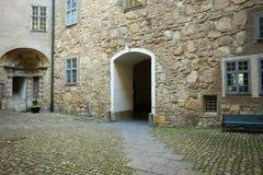 Входная дверь короля и ферзя Стоковое фото RF