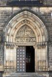 Входная дверь собора Стоковая Фотография