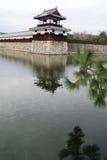 Вход на замок Хиросимы Стоковое Изображение