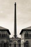Вход на старого завода Стоковые Изображения RF