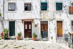 4 входной двери в Лиссабоне Стоковые Фото