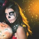 Вход ограничен к ночному клубу, дресс-коду Партия 2016 хеллоуина! Стоковая Фотография