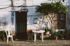 Вход дома деревни Стоковая Фотография RF
