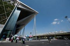 Вход оси экспо мира Шанхая Стоковые Фото