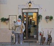 Вход до одно из caffeterias Стоковое Изображение