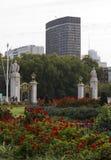 Вход парка StJames от церемониального строба Австралии Стоковые Фото