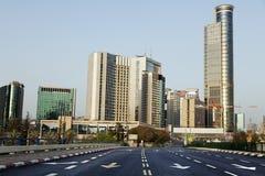Вход района город-привидения городской Стоковое Изображение RF