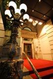 Вход роскошной гостиницы стоковые изображения rf