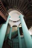 Вход ротонды внутренний многоквартирного дома Стоковые Фото