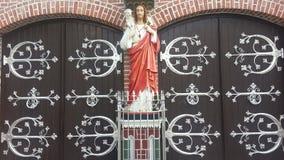 Вход собора ` s St Mary собора, Янгона Стоковое Изображение RF
