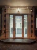Вход современной гостиницы Стоковые Изображения RF
