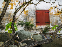 вход старый Стоковая Фотография