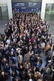 Вход торговой ярмарки Стоковое Фото