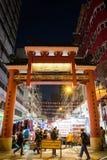 Вход улицы виска в Гонконге Стоковая Фотография