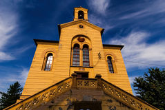 Вход церков, St. Dimitrije, Zemun, Белград Стоковые Фото