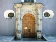 Вход церков St Nicholas Стоковая Фотография RF
