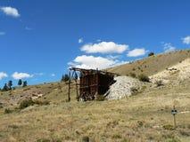 Вход шахты Стоковая Фотография