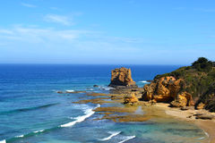 Дорога океана входа Aireys большая Стоковые Фотографии RF