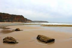 Вход Aireys вдоль большой дороги океана Стоковое Изображение RF