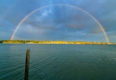 Вход Budd радуги стоковое фото rf