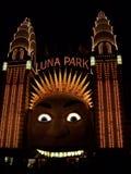 Вход Luna Park Стоковые Изображения