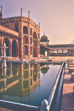 вход Taj-ul-Masajid в Бхопал Индию Стоковые Фотографии RF