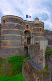 Въездные ворота в замок злят замок стоковое изображение