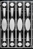 Въездные ворота металла стоковая фотография