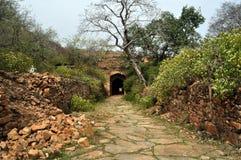Въездные ворота форта стоковые фотографии rf
