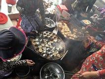 Въетнамская еда улицы в Vung Tau Стоковая Фотография RF