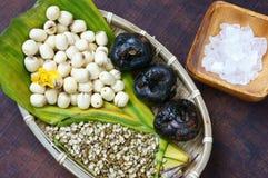 Въетнамская еда, сладостный gruel семени лотоса Стоковое фото RF