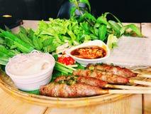 Въетнамская еда стоковое изображение rf