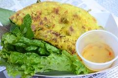 Въетнамский блинчик стоковое фото rf