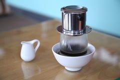 Въетнамский комплект coffe Стоковая Фотография