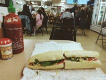 Въетнамский сандвич стоковое изображение