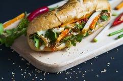 Въетнамский сандвич стоковая фотография rf