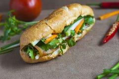 Въетнамский сандвич стоковая фотография