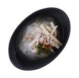 Въетнамский суп лапши Путь клиппирования стоковые изображения rf