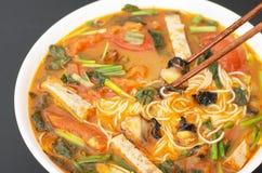 Въетнамский суп лапши улитки Стоковое Изображение RF