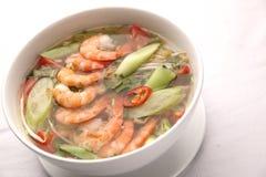 Въетнамский сладостный и кислый суп Стоковое Изображение