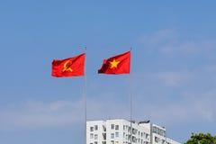 Въетнамский флаг Стоковое Изображение RF