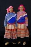 2 въетнамских сестры от гор Стоковые Фото