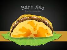 Въетнамское xeo bahn еды Стоковое Изображение