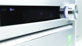 Выберите входных сигналов приемника AV акции видеоматериалы