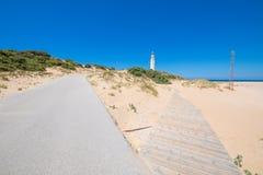 Выберите дорогу или footway к маяку Trafalgar стоковая фотография
